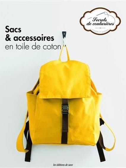 Livre sacs & accessoires en toile de coton