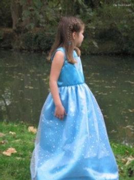 Les Bricolises Robe princesse avec cape