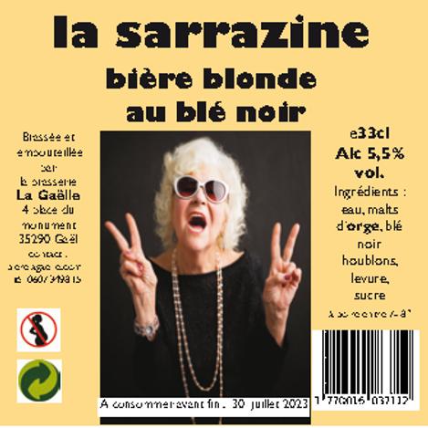 24 bières blonde sarrazine