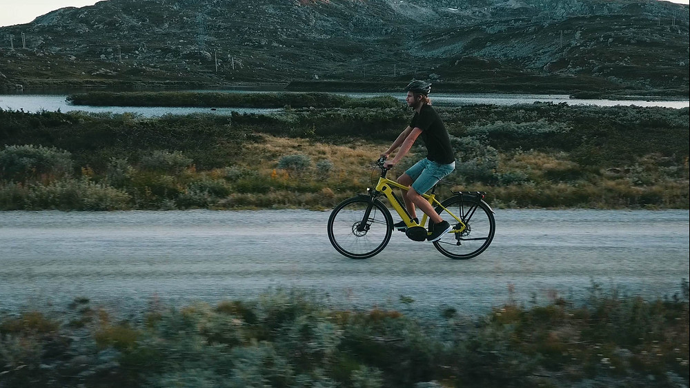 Prøv elsykkel, Oslo Sykkelverksted Sykkelbutikk test kalkhoff