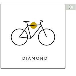 Diamant ramme sykkel
