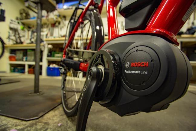 Krankmotor elsykkel oslo sykkelverksted bosch