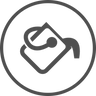 Bøtte ikon mørk.png