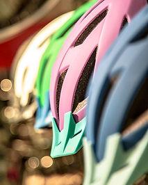 Utstyr til sykkel hjelmer låser sidevesker, Abus Kryptonite og Ortlieb skjermer og lys til sykkel