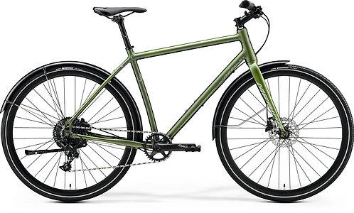 Merida Crossway Urban 300 Oslo Sykkelverksted lett hybrid hybridsykkel sykkel