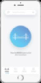 application mobile bridge page d'accueil