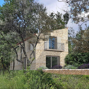 Résidentiel  Rénovation d'une ancienne habitation en pierre.