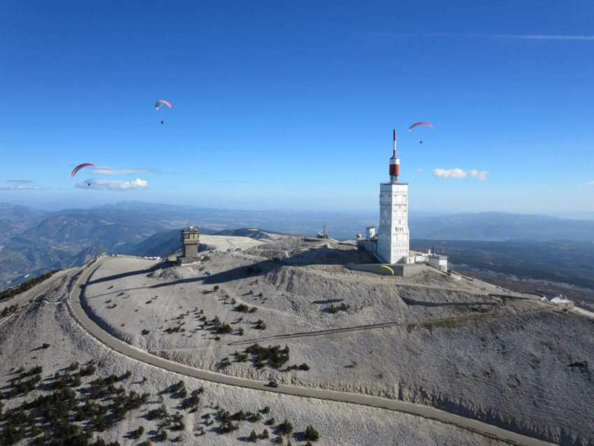Mont Ventoux et parapente