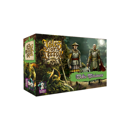 ISLES OF TERROR: WOKOU MINIATURES PACK