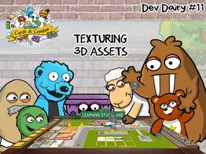 #11 - LSL Cards & Combat - Texturing 3D Assets