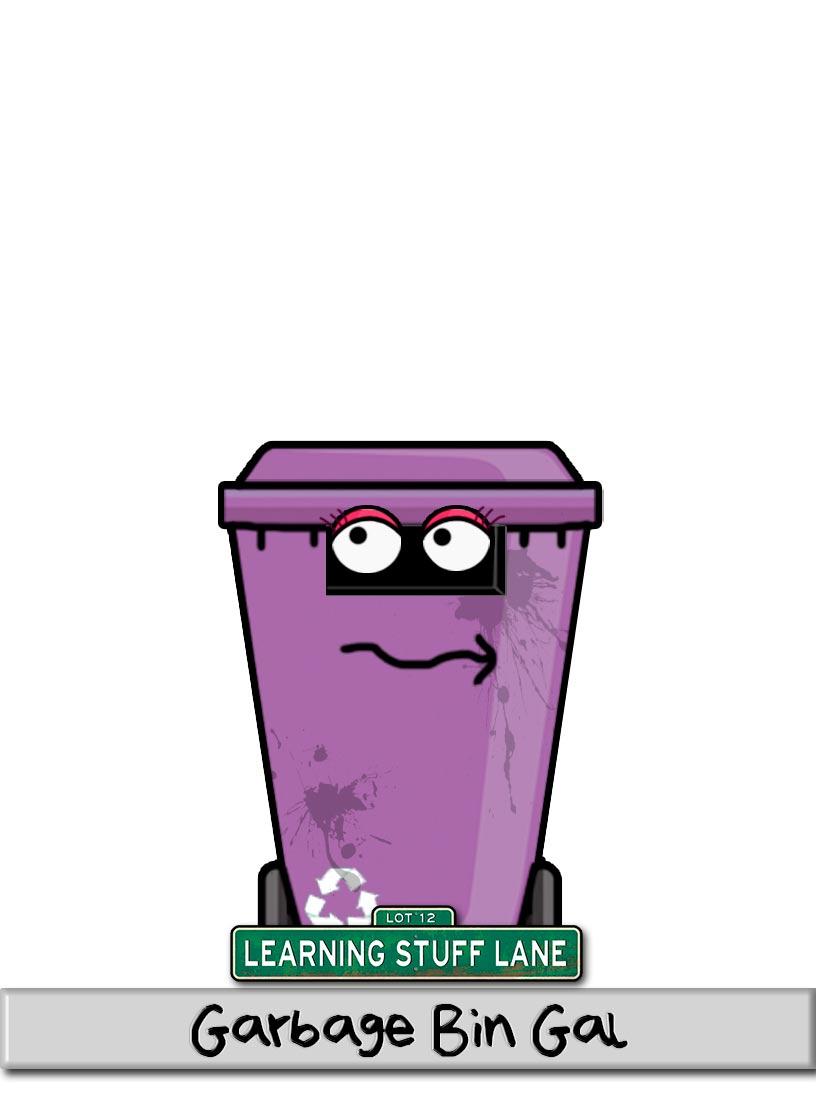 Character---GarbageBinGal