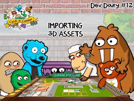 #12 - LSL Cards & Combat - Importing 3D Assets