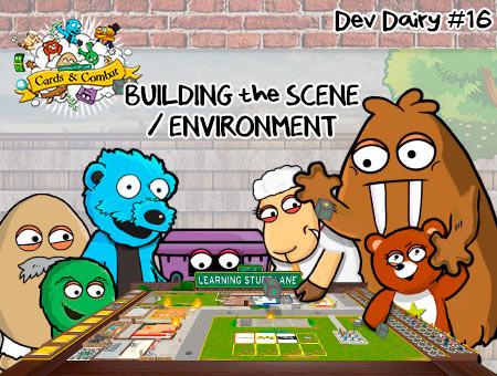 #16 - LSL Cards & Combat - Building the Scene / Environment