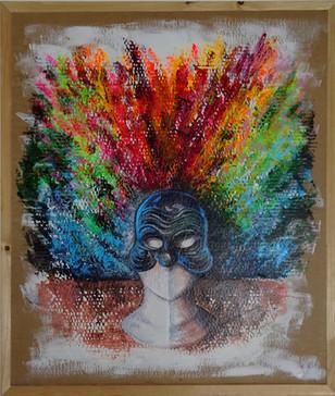 la maschera di arlecchino