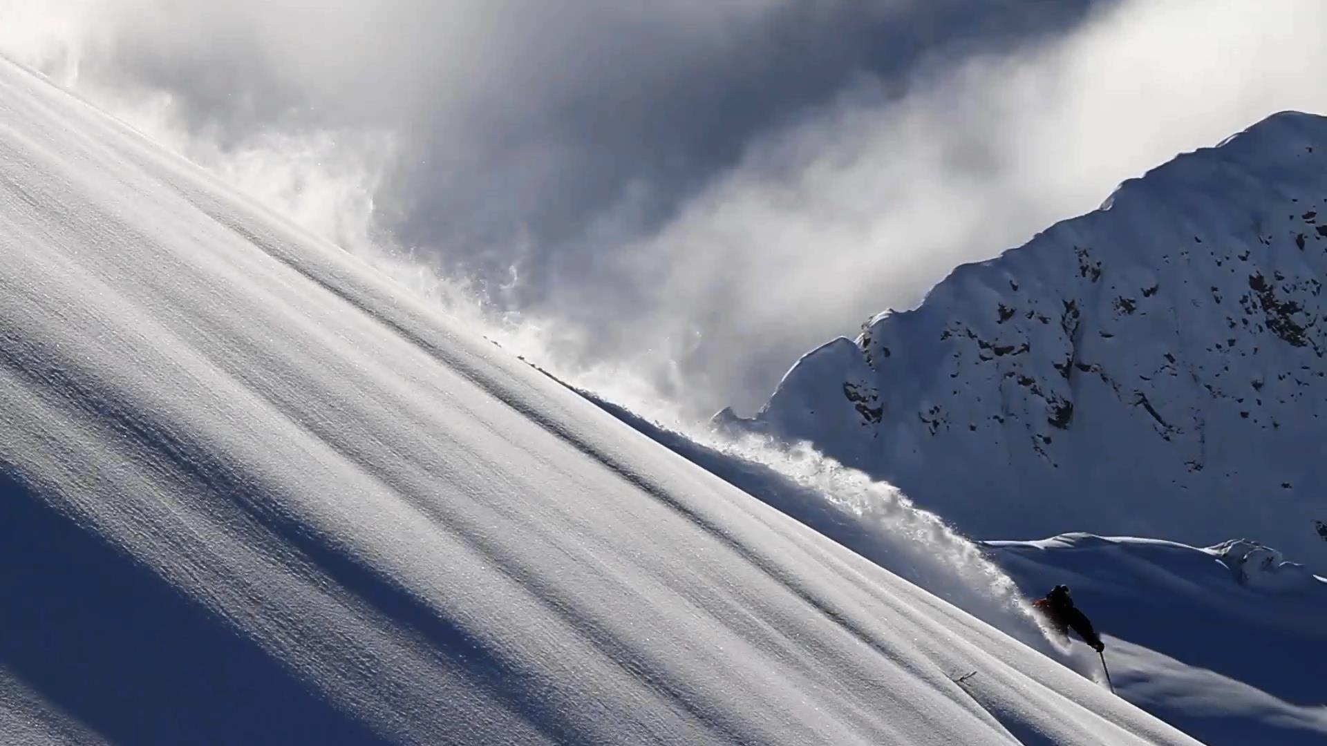 Dévaler les pentes en ski