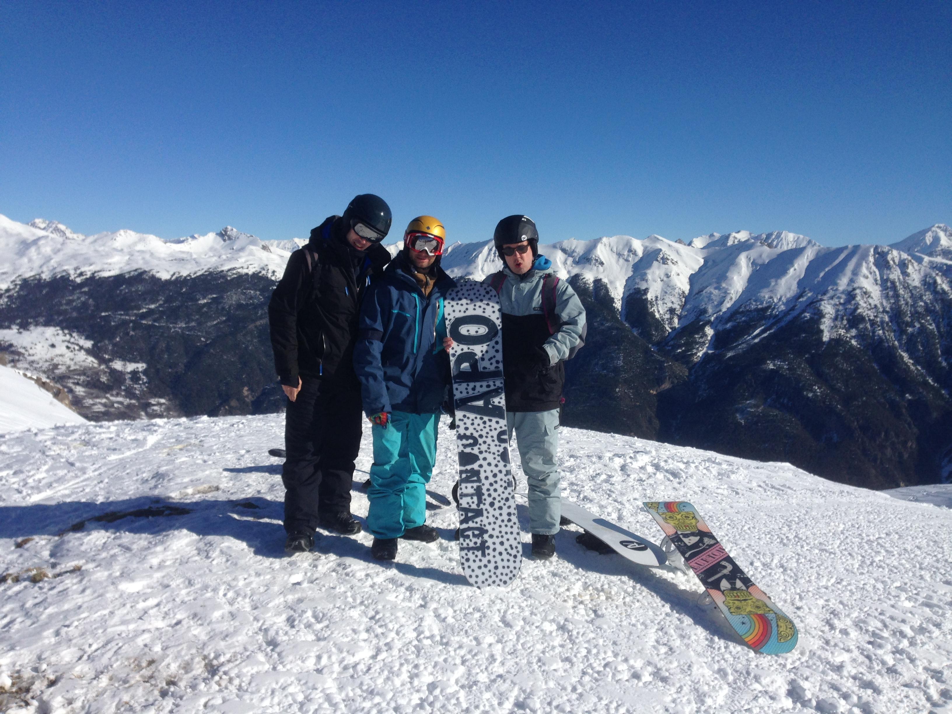 Pratiquez le snowboard !