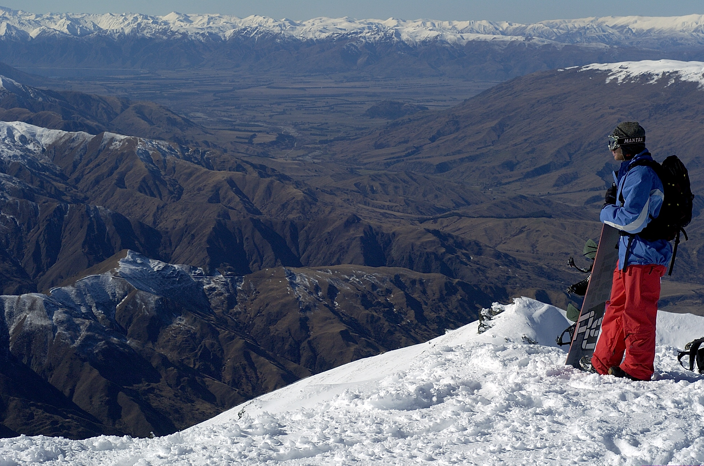 Panaroma magnifique des Alpes