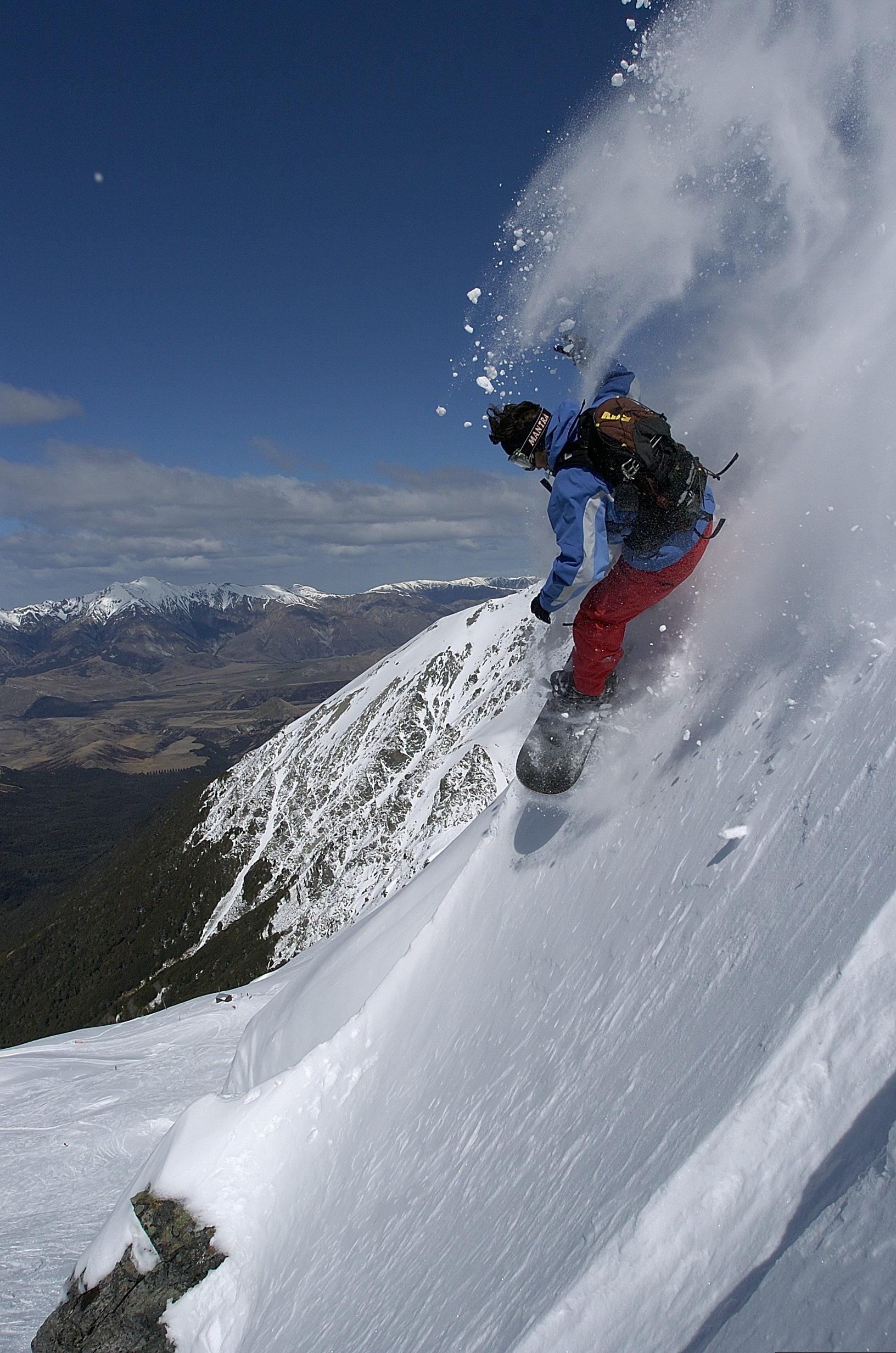 Le snowboard, sensations garanties