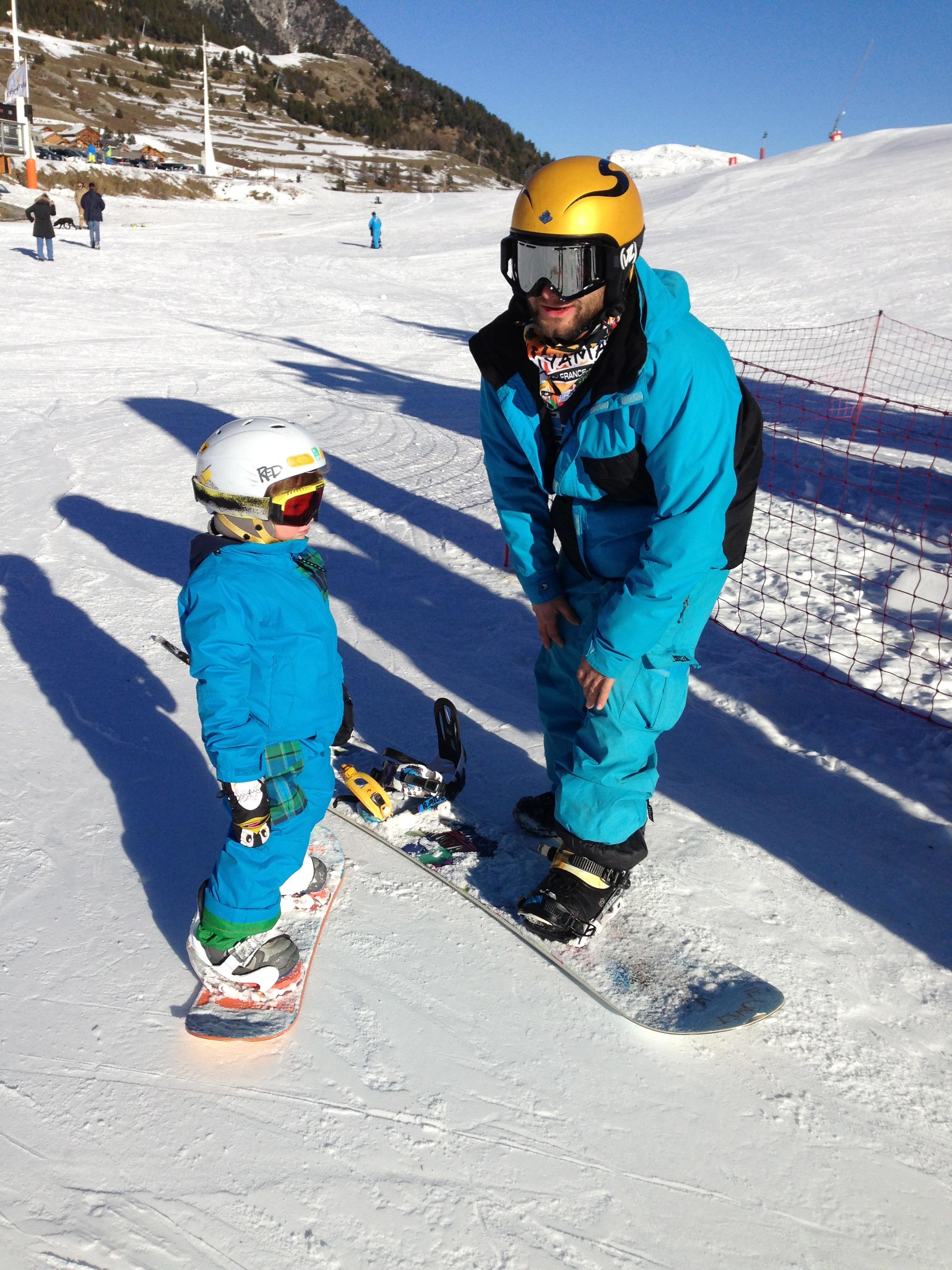 Snowboard à tout âge