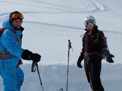 Le plaisir de skier
