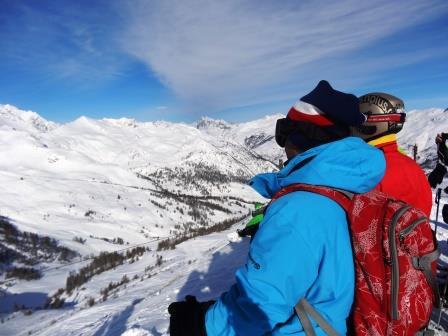 Splendide vue des Alpes