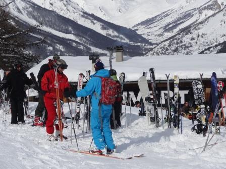 Cours de ski par Julien