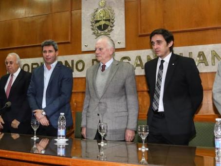 El sistema de Flagrancia Sanjuanino fué premiado a nivel nacional.