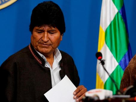 Fuerte impacto en la región por la renuncia de Evo Morales.