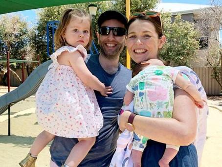 Una pareja fue diagnosticada con cáncer terminal con tres meses de diferencia: tienen dos hijos
