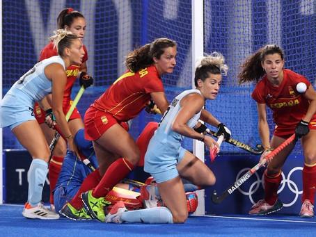 Hockey sobre césped en Tokio 2020: las Leonas derrotaron a las Red Sticks de España