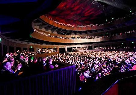 """ORGULLO SANJUANINO : El teatro Bicentenario fué galardonado nuevamente con el """"Premio a la Calidad""""."""