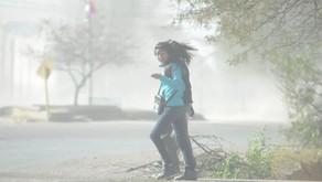 El clima: temperaturas moderadas y ráfagas de hasta 50 km/h de viento Sur
