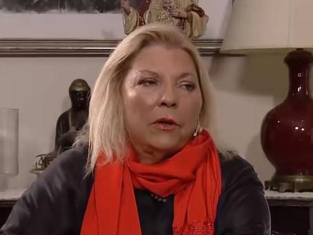 "Elisa Carrió: ""Es una estrategia nazi y fascista el relato kirchnerista"""