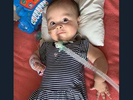 Emmita necesita un medicamento de 2 millones de dólares para seguir viviendo