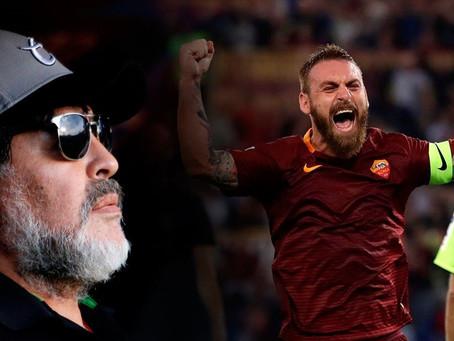 De Rossi recibió la bendición del Diego