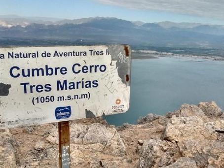 Un joven se desorientó en el Cerro Tres Marías: tuvo que ser rescatado por el G.E.R.A.S.