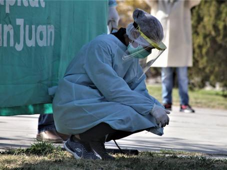 Confirmaron cinco muertes y 326 nuevos contagios de Covid-19 en la provincia