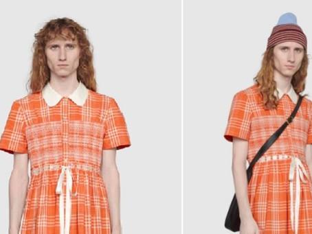 Para romper estereotipos, lanzan un vestido para hombres a 2.600 dólares