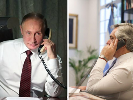 Alberto Fernández mantuvo un diálogo con Putin sobre el suministro de vacunas
