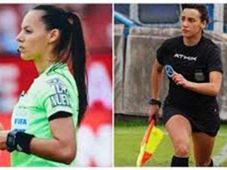 Dos juezas de línea actuarán por primera vez en la Copa Libertadores