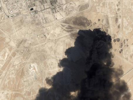 Tensión en medio oriente : EEUU acusa a Irán de estar implicado en el ataque a la petrolera Saudí.