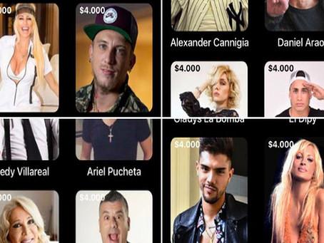 Famosos argentinos cobran en dólares por enviar saludos a sus fans