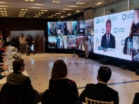 """Expectativa por las medidas restrictivas que se tratarán en la mesa de """"Acuerdo San Juan"""""""