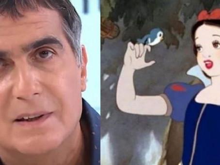 Antonio Laje, indignado por la cancelación de Blancanieves