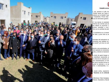 La UCR pide sanciones para A. Fernández, C. Kirchner y Kicillof por incumplir las medidas sanitarias