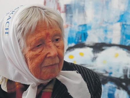Vera Jarach dará mañana la charla suspendida hace diez días en una escuela
