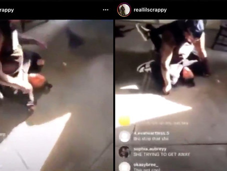 Castigó a su hija por intentar escaparse y lo transmitió por Instagram