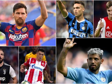 Los argentinos que estarán en la Champions league buscan hacer historia.