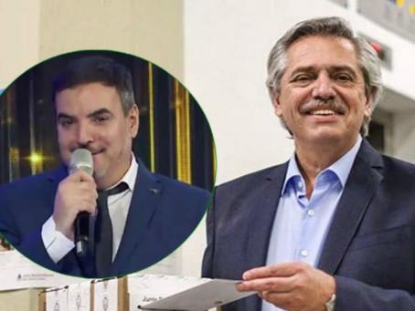 Un conductor le propone a Alberto Fernández exportar marihuana medicinal.