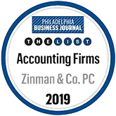 Philadelphia Business Journal The List Accounting Firms 2019